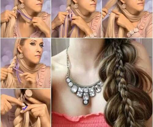 braids, hair, and cabello image