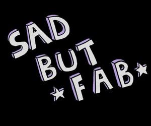 overlay, fab, and sad image