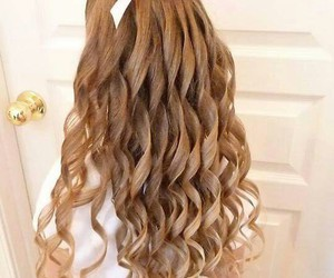 hairstyle, girl, and fashion image
