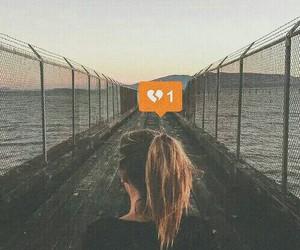 girl, broken, and sad image