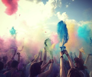 colors, festival, and colorful image