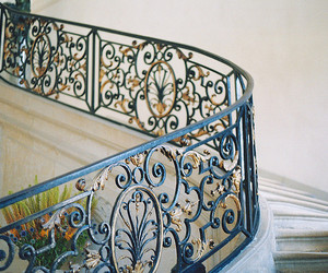 stairs, vintage, and house image