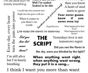 3, black, and Lyrics image
