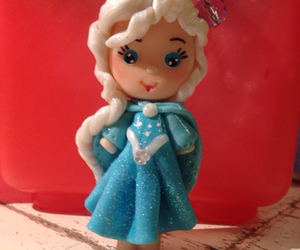fimo, frozen, and elsa image