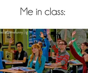 funny, class, and me image