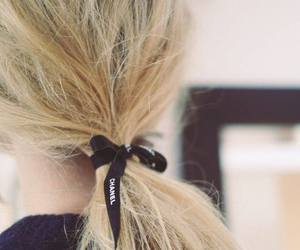 hair, chanel, and blonde image