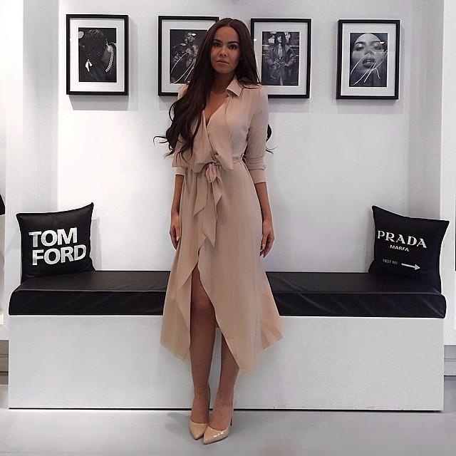 brunette, coat, and high fashion image
