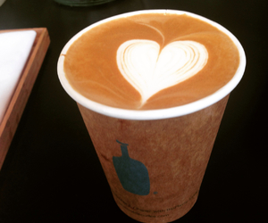 blue bottle, cappuccino, and coffee image