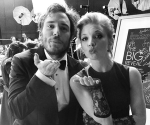 kiss, sam claflin, and Natalie Dormer image