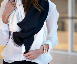 blouse, fashion, and chic image