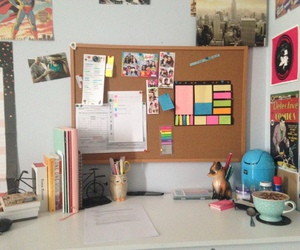 study, cool, and desk image