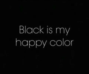 black, colour, and happiness image