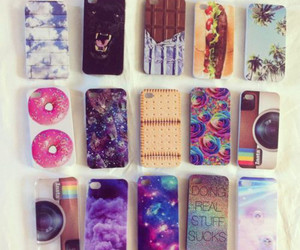 food, galaxy, and iphone case image