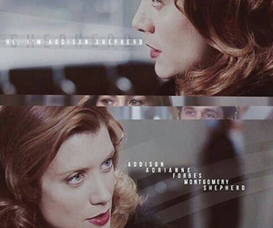 grey's anatomy and addison montgomery image