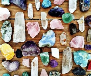 crystal, stone, and colors image