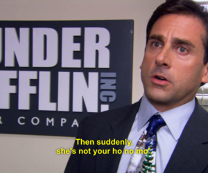funny, the office, and michael scott image