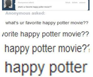 harry potter, funny, and happy image
