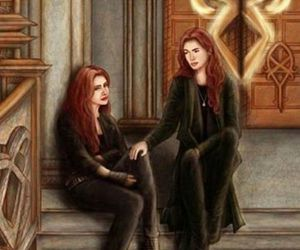 clary fray, clary, and jocelyn fray image