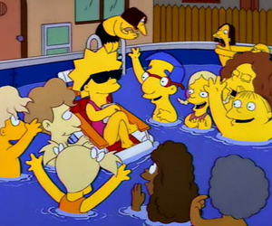 lisa, the simpsons, and simpsons image