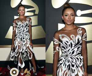 grammys and tvd kat graham image