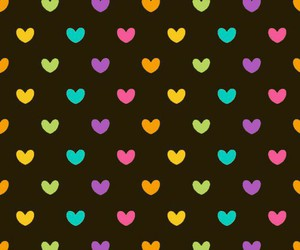colores, corazones, and wallpaper image
