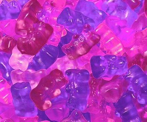 pink, purple, and candy image