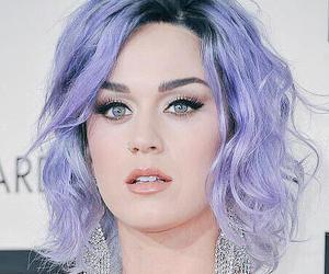 katy perry and purple hair image