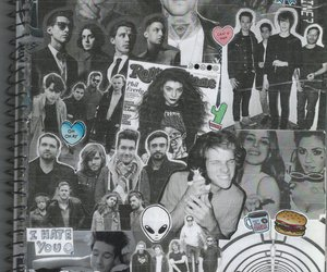 arctic monkeys, b&w, and bands image