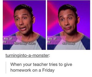 funny and homework image