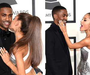 big sean, ariana grande, and grammys image