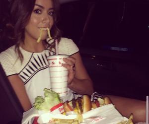 chloe bennet, food, and girl image