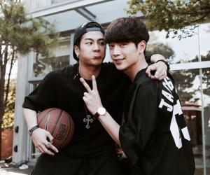 jackson, roommate, and seo kang joon image