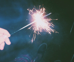 grunge, fireworks, and pale image