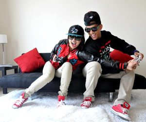 swag, couple, and boy image