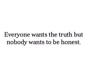 quote, honest, and true image
