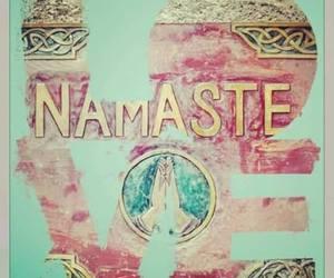 namaste and love image
