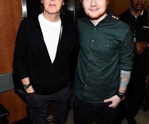ed sheeran, grammys, and Paul McCartney image
