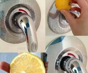 diy, lemon, and clean image