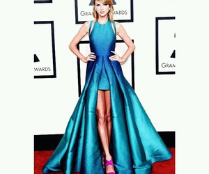 dress, Taylor Swift, and grammy image