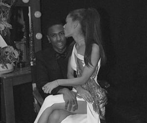 ariana grande, big sean, and grammy image