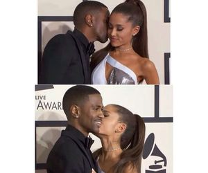 big sean, ariana grande, and cute image