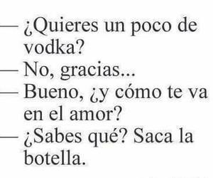 vodka and botella image