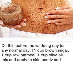beauty, body scrub, and diy image