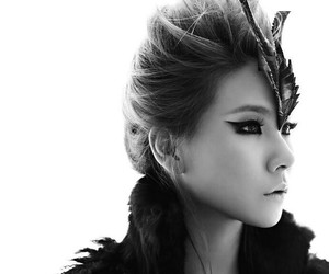 2ne1 and chae lee rin image