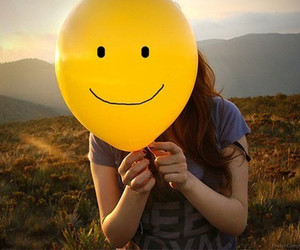 smile, yellow, and happy image
