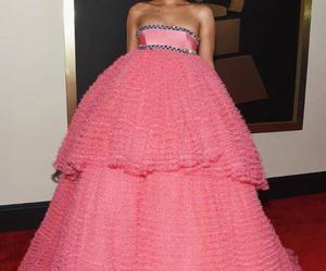 rihanna, pink, and dress image