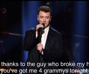 sam smith and grammys image