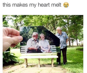 couple, nature, and sad image