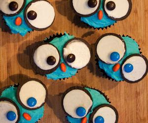 cupcakes and owl image