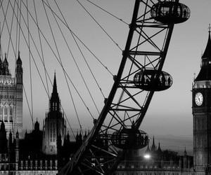 london, Big Ben, and london eye image